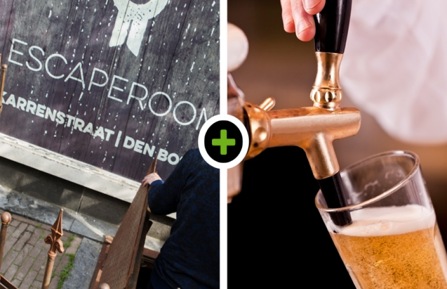 Escape room - Bierproeverij- tapcursus