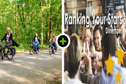 Solex rijden - Ranking your Stars! Dinner Game
