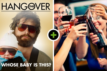 The Hangover in Den Bosch! Incl. 2 uur borrelarrangement