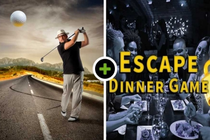 Streetgolf - Borrelen - Escape Dinner Game