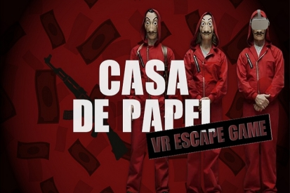 VR Escape Game: Casa de Papel