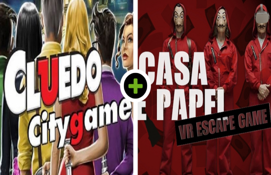 Cluedo City Game - Lunch - VR Escape Game: Casa de Papel