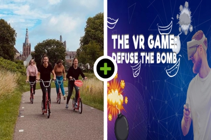 Stepspeurtocht - VR Game: Defuse the Bomb